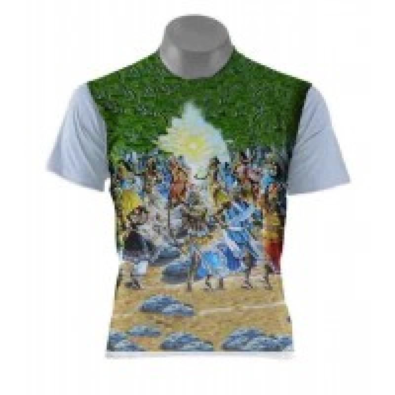 Camiseta 14 Orixás