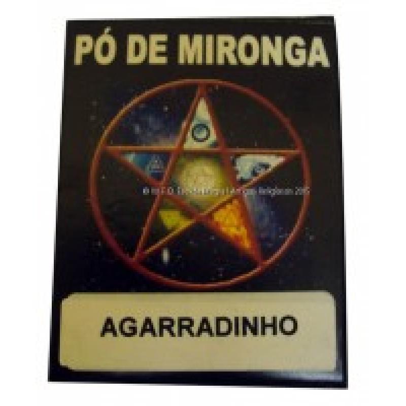 PÓ DE MIRONGA AGARRADINHO