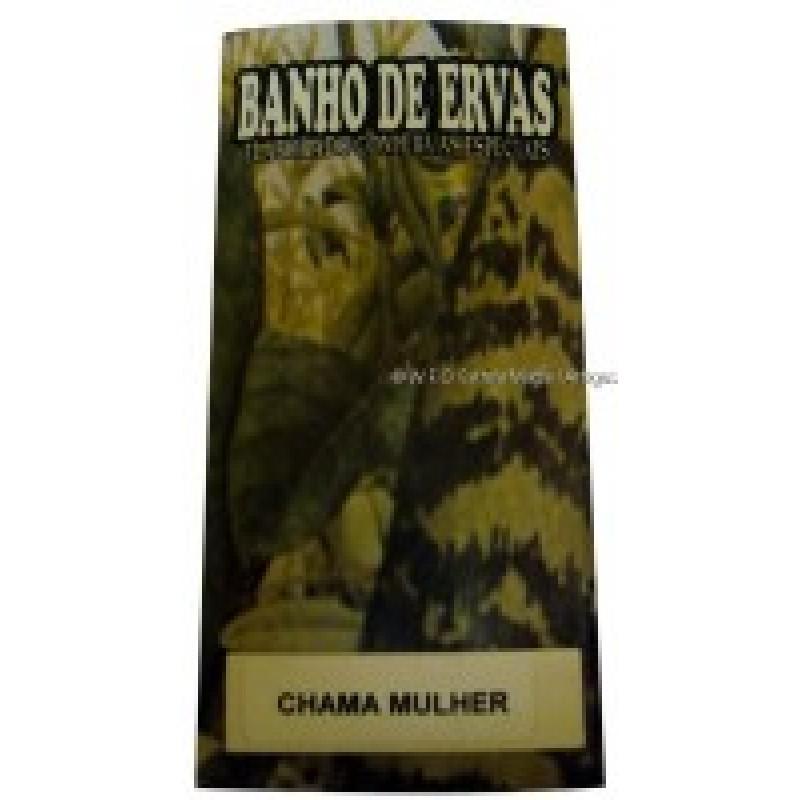 BANHO EM ERVA CHAMA MULHER