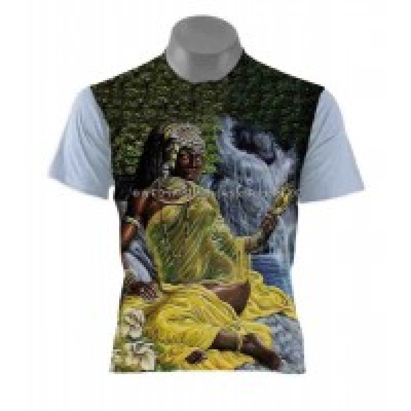 Camiseta Oxum Candomblé Branca