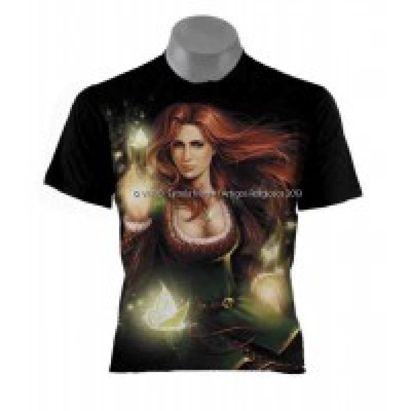 Camiseta Cigana Esmeralda