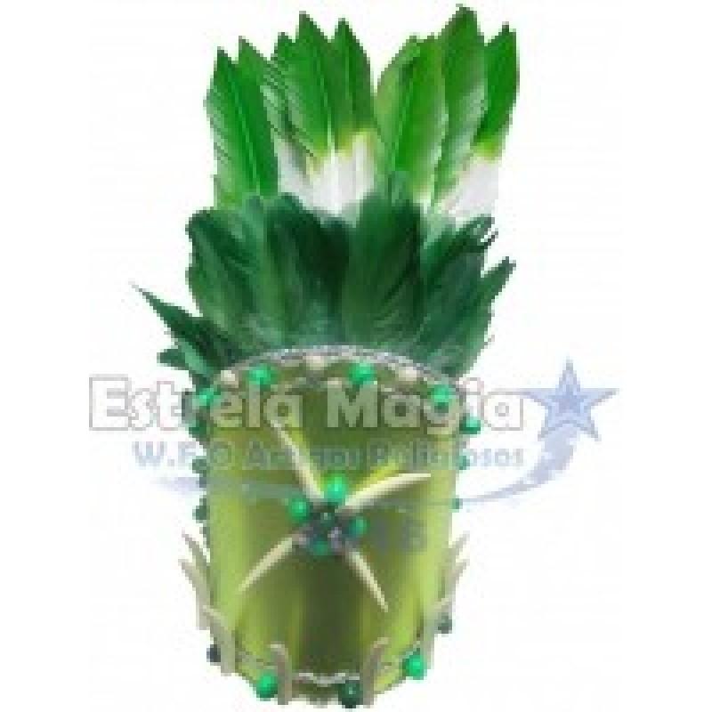 Cocar Verde Luxo