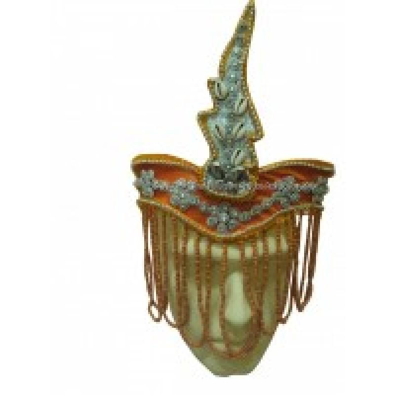 Coroa de Iansã Laranja