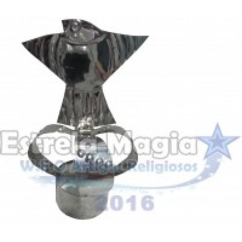Coroa de Oxalá Pombo de Aço para Assentamento