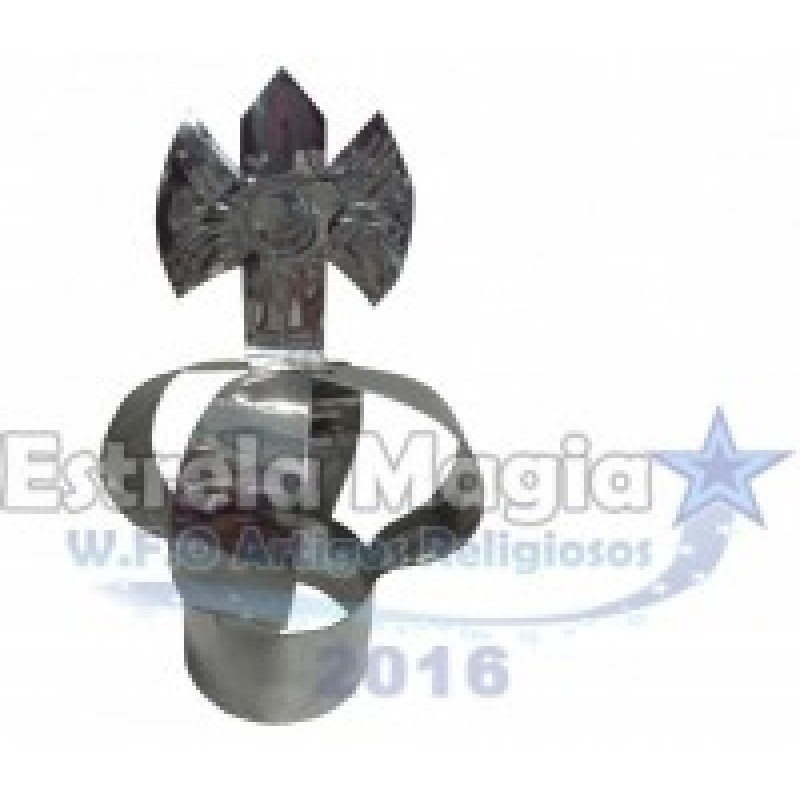 Coroa de Xangô de Aço para Assentamento