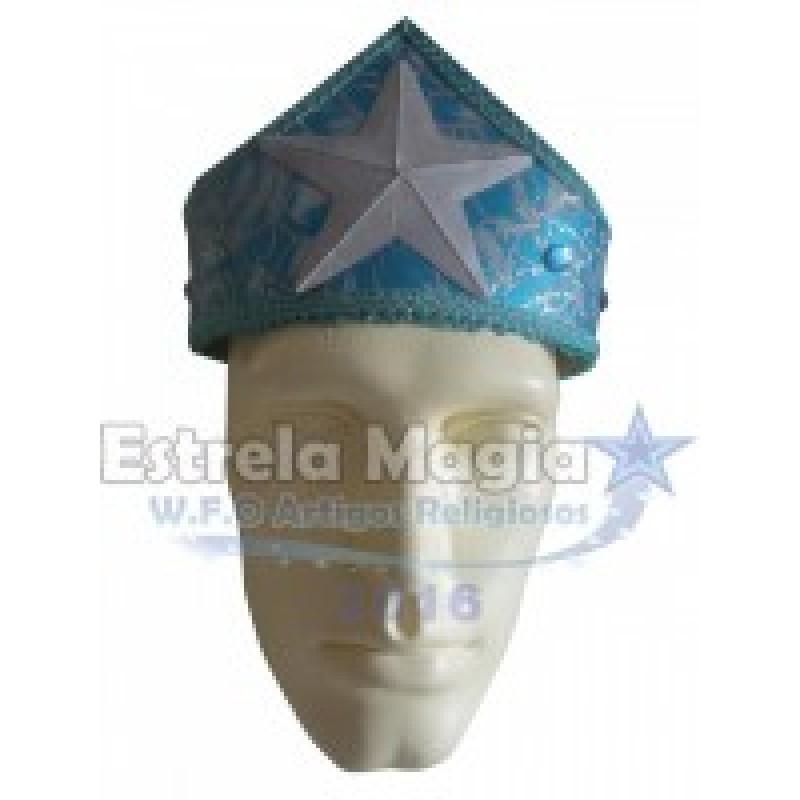 Coroa de Yemanjá Azul Simples
