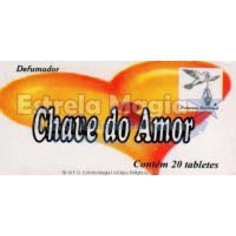 Defumador Chave do Amor