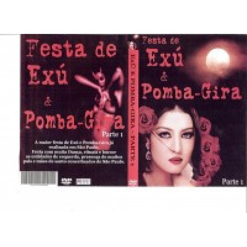 Dvd Trilha Festa de Exú e Pomba Gira Parte l