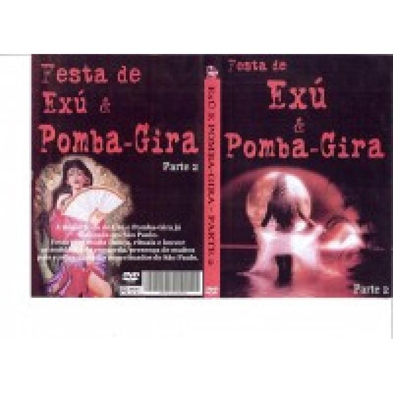 Dvd Trilha Festa de Exú e Pomba Gira Parte ll