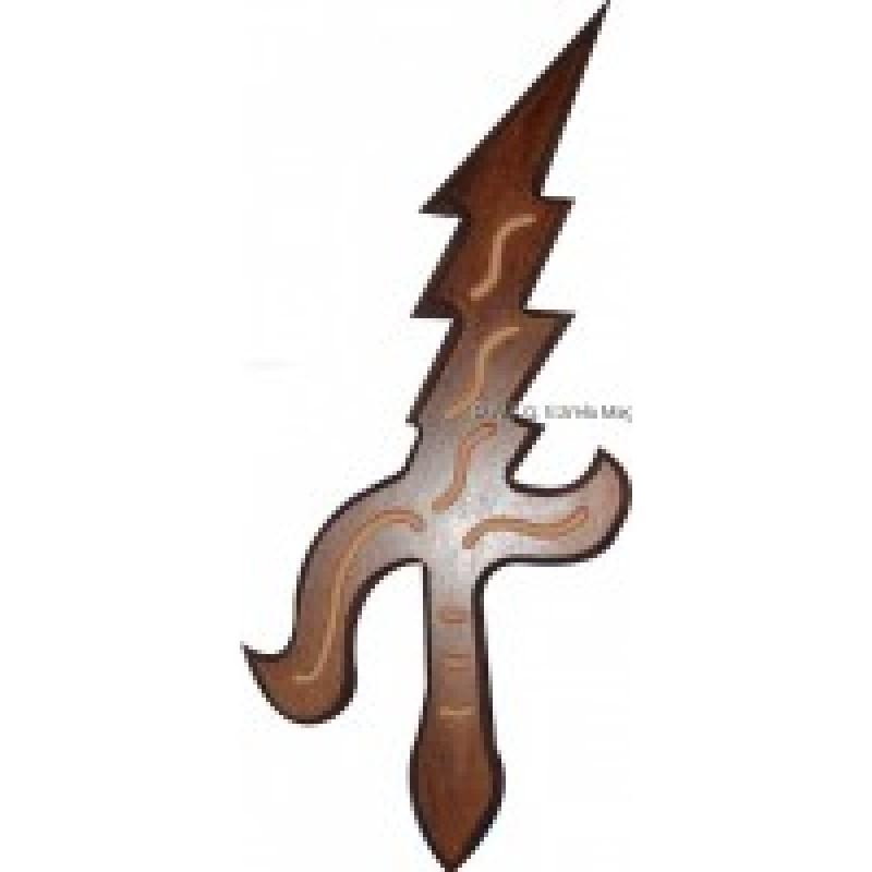 Espada de Iansa de Madeira