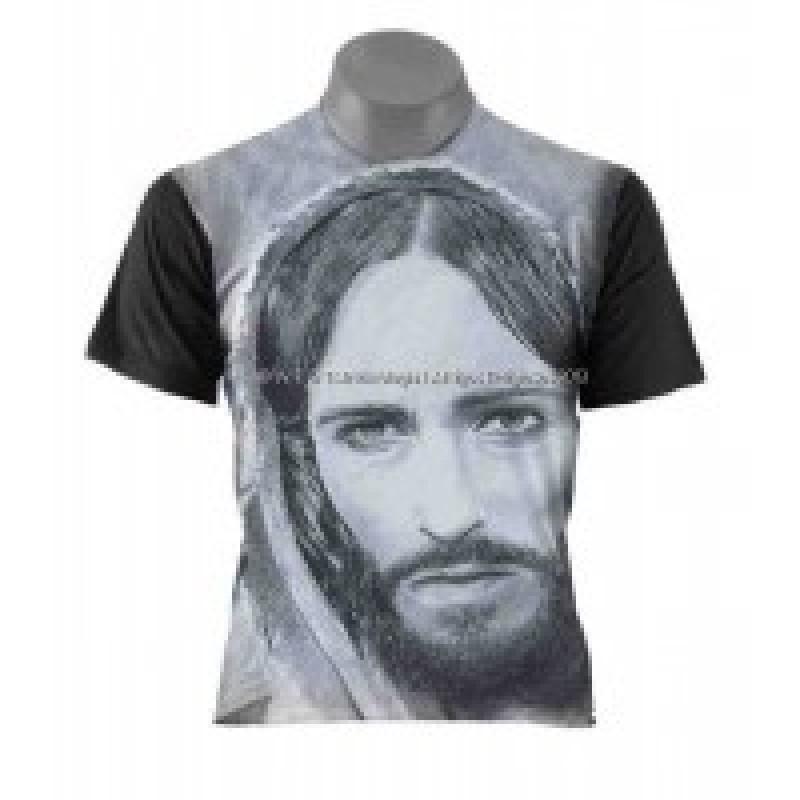 Camiseta Jesus Cristo Preta