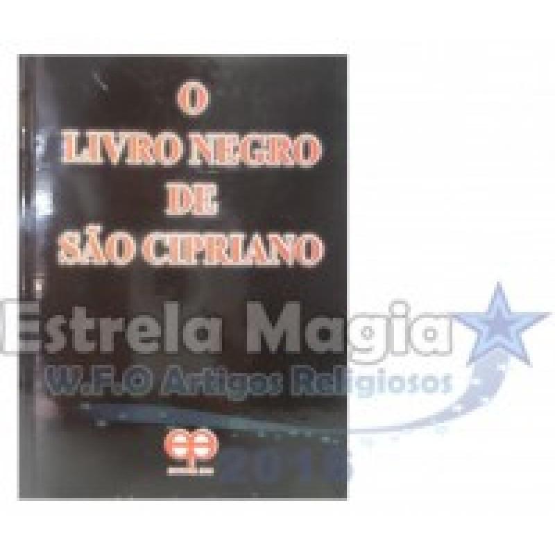 Livro O Livro Negro de São Cipriano