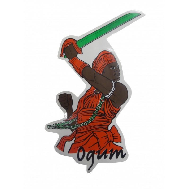 Adesivo de Ogum Codigo 1