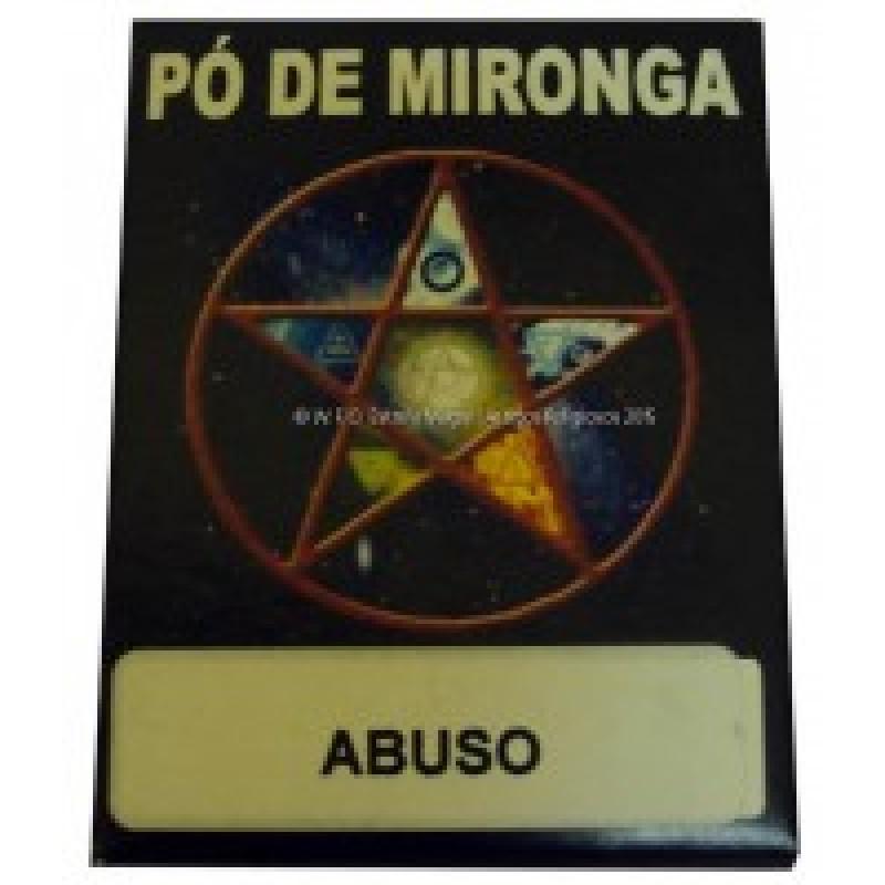 PÓ DE MIRONGA ABUSO