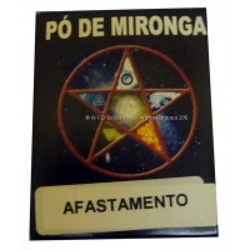 PÓ DE MIRONGA AFASTAMENTO