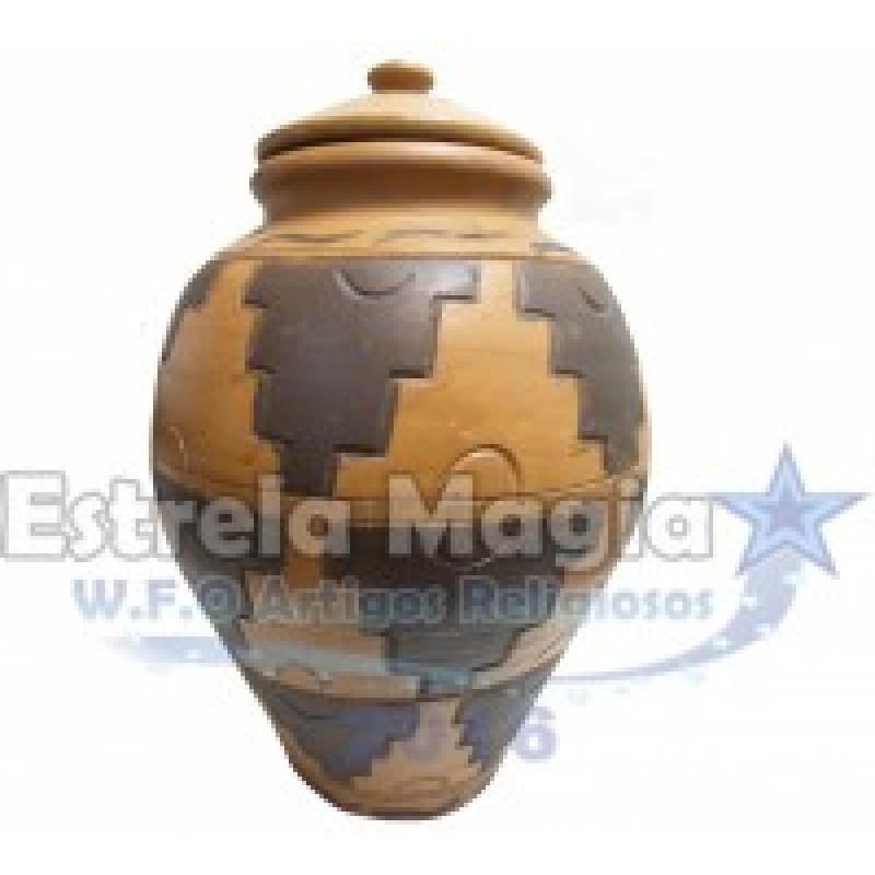 Pote De Barro de Abô Luxo Nº 2
