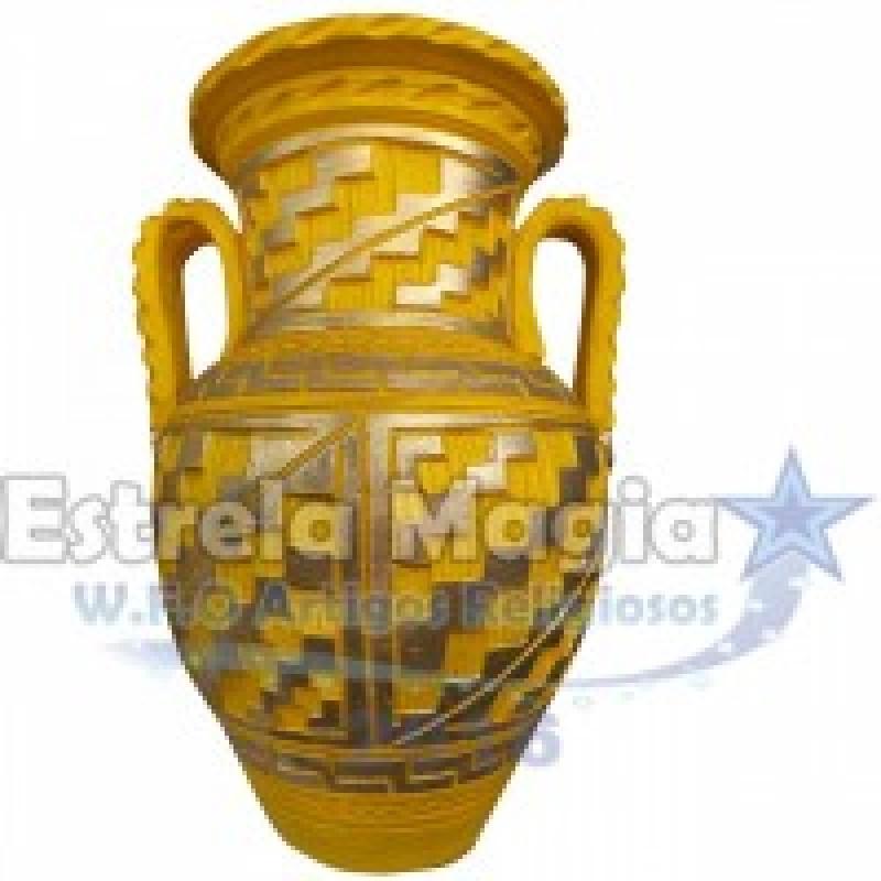 Quartilhão de Barro Africano Amarelo X Dourado co...