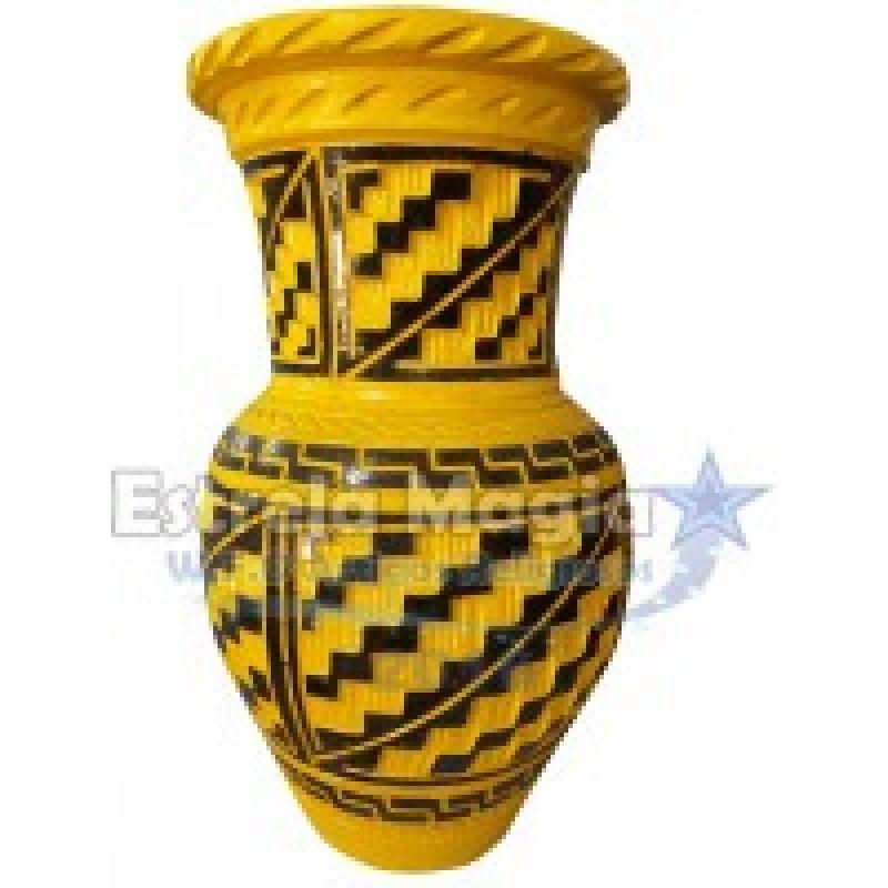 Quartilhão de Barro Africano Amarelo x Preto sem ...