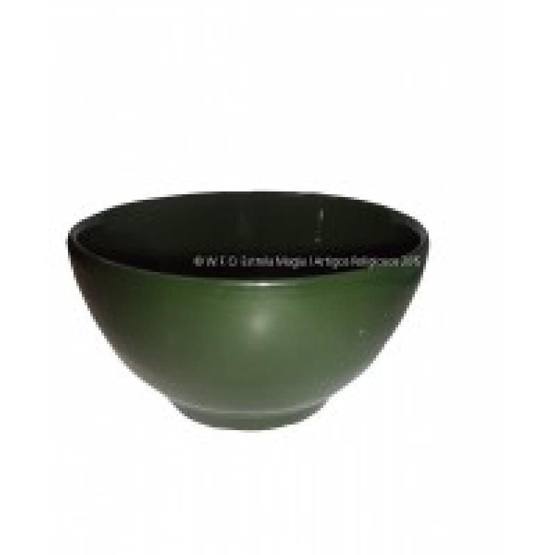 Tigela de Louça Verde 16 CM