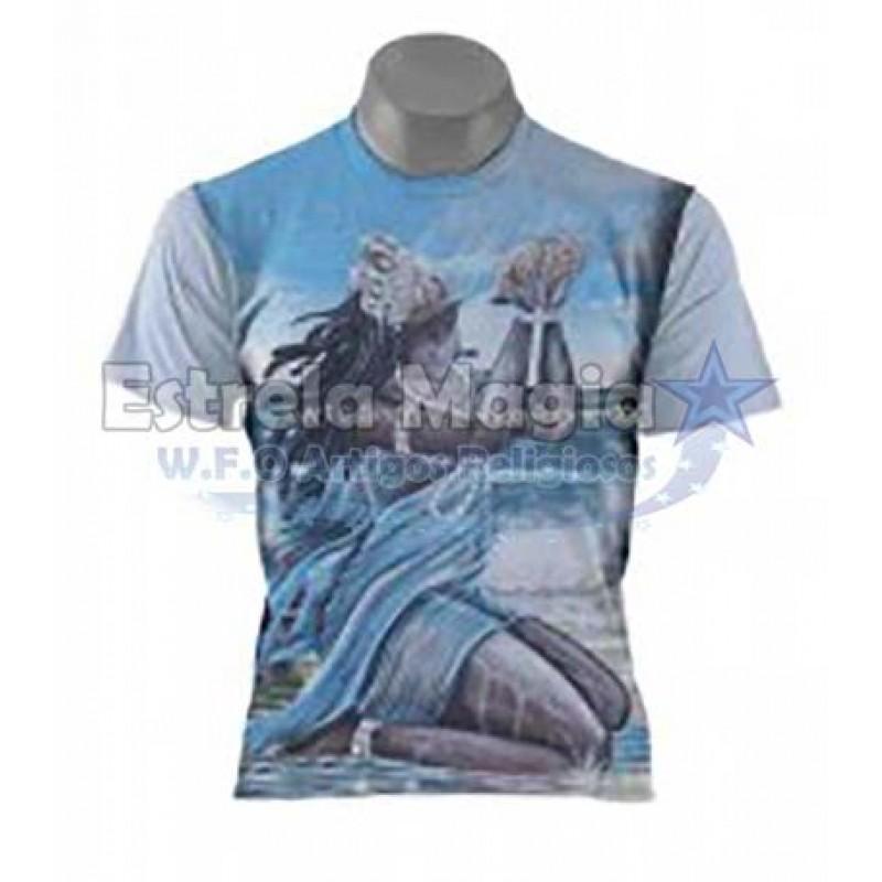 Camiseta Yemanja Negra