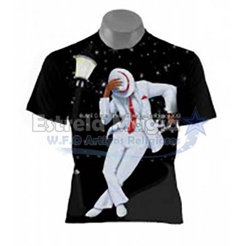 Camiseta Zé Pilintra Frente Versa Preta