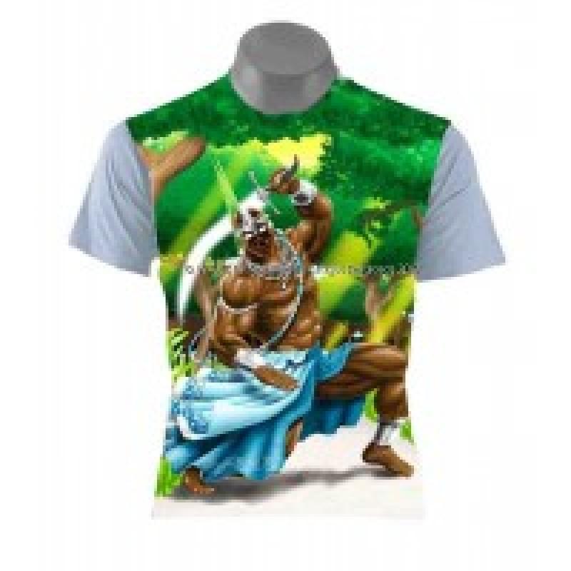 Camiseta Ogum Verde